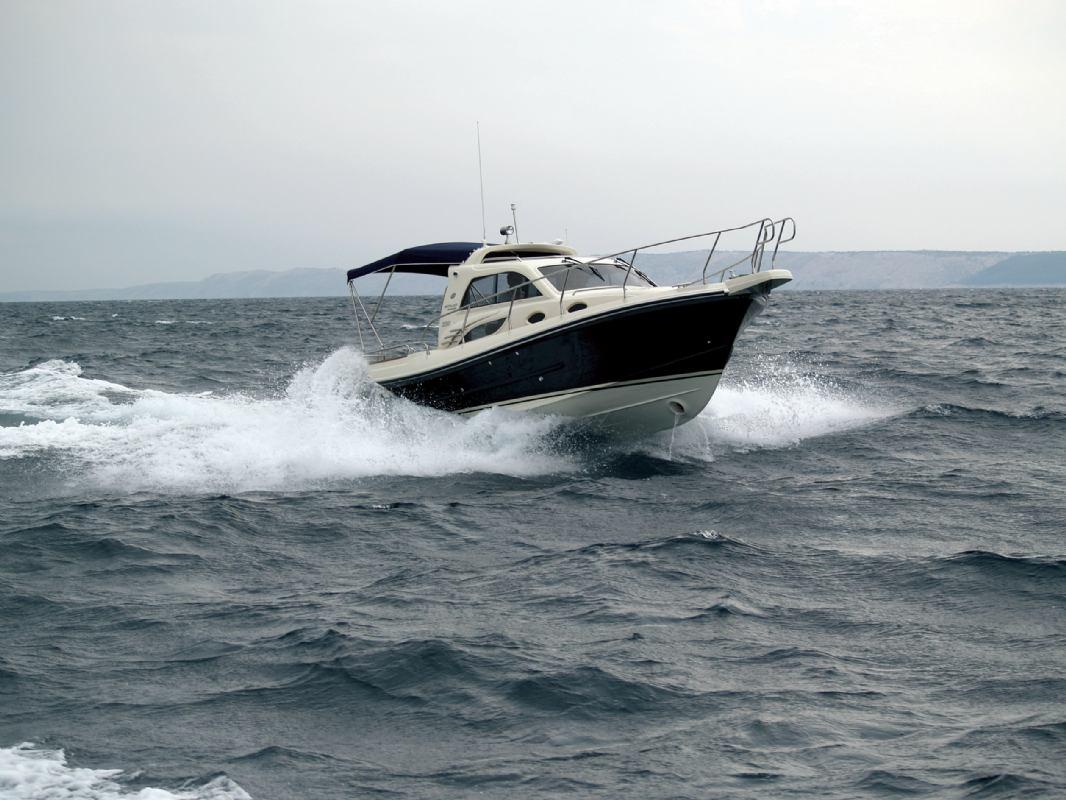 Hidrodinamika: Udaranje plovila o valove