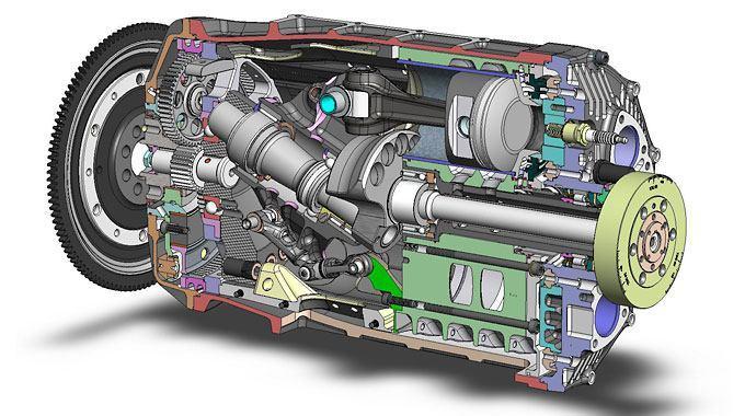 Aksijalni motor