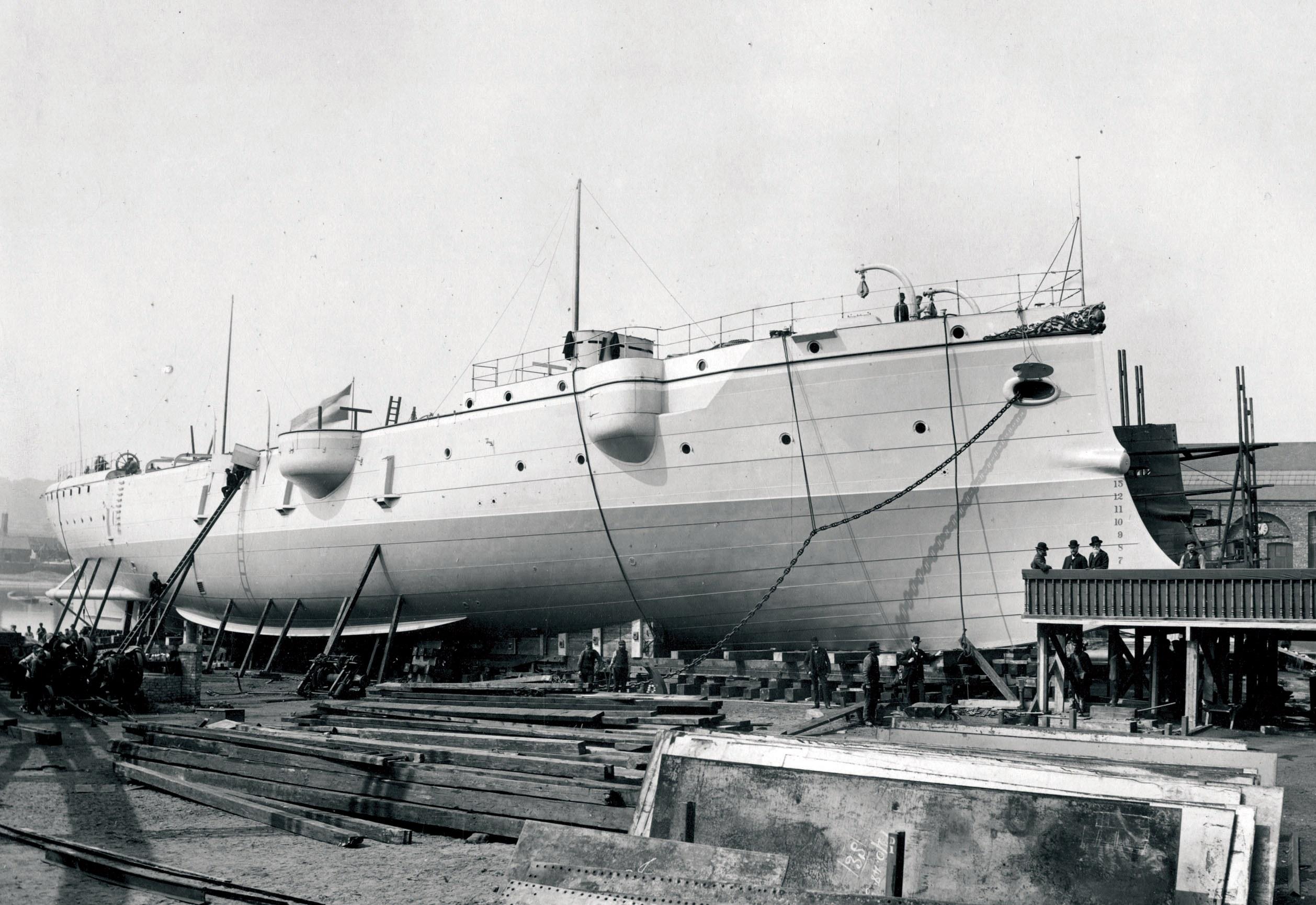 Povijesni brodovi - K.u.K. krstarice na Dalekom istoku