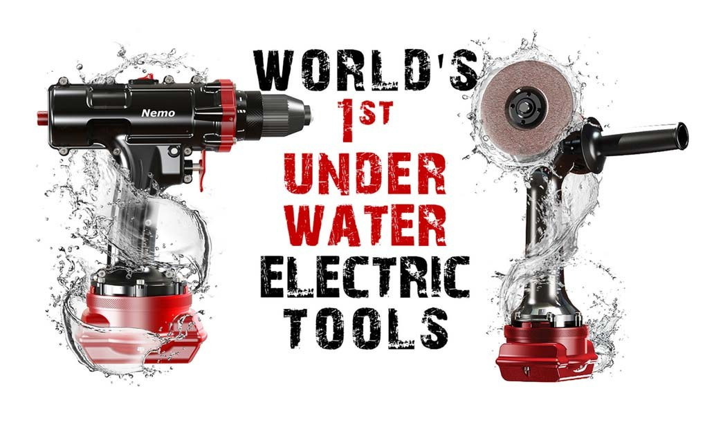 Električni alat za podmorske radove