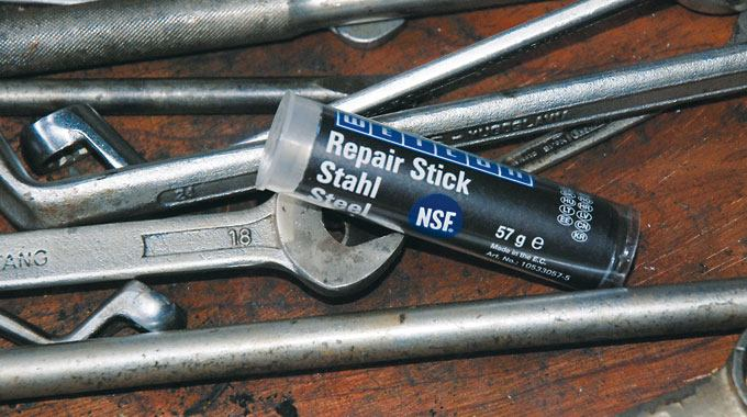Repair stick steele