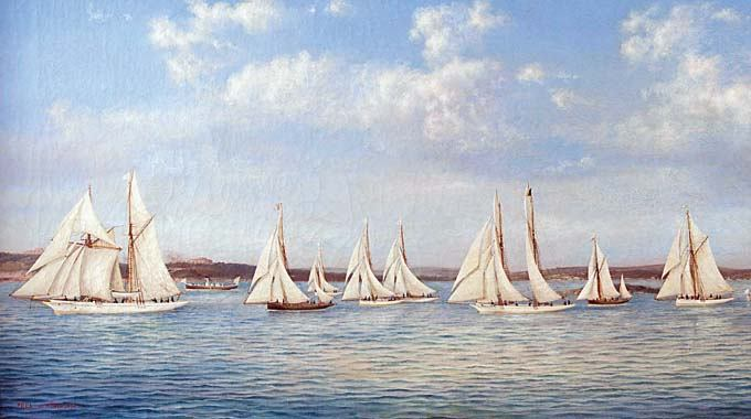 Povijesni brodovi: Prvi jahtaš monarhije