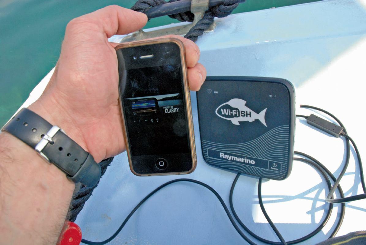 Raymarine Wi-FiSH