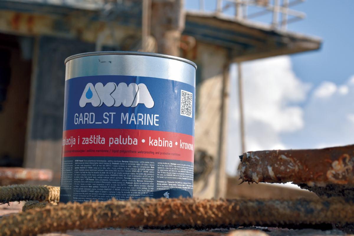 Sredstvo za zaštita drva Akwa Gard_St Marine