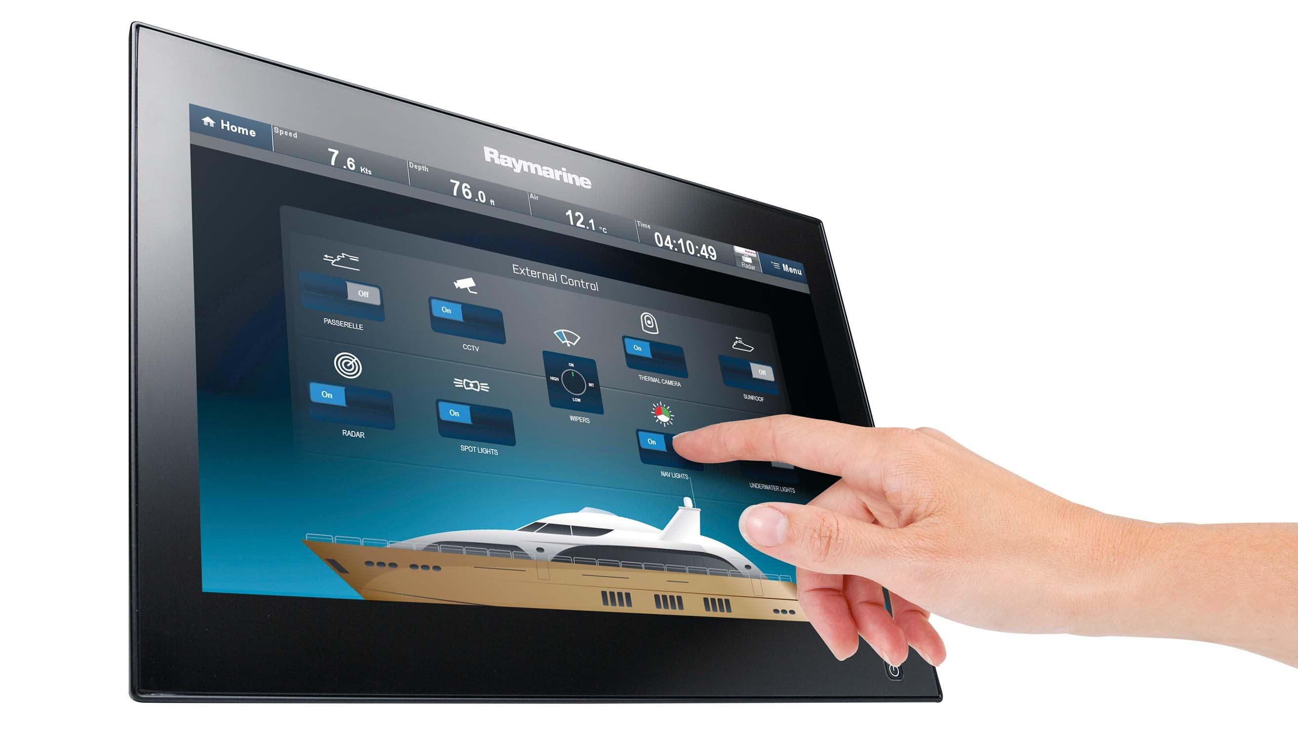 Digital Switching - prstom prema ploteru