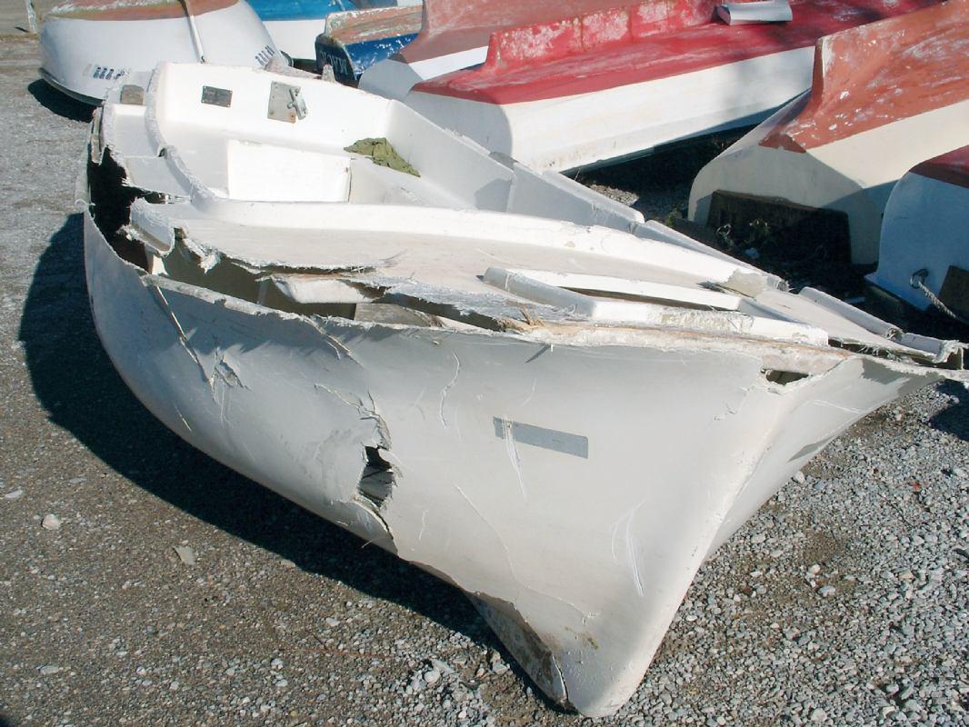 Hidrodinamika: Zbrinjavanje dotrajalih stakloplastičnih plovila