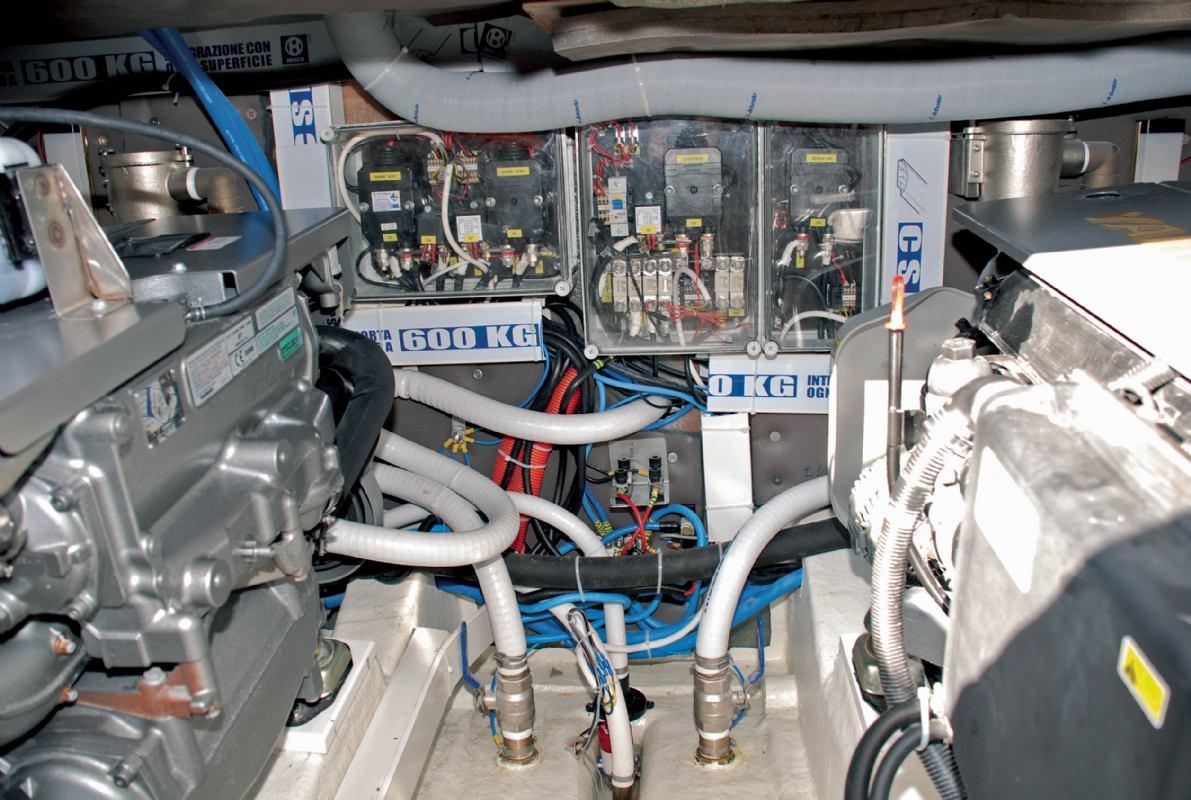 Organizacija baterija u plovilu