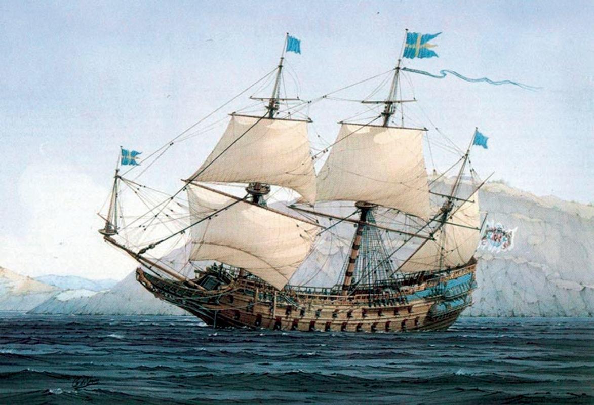 Povijest pomorstva: Od galijuna do  linijskoga broda