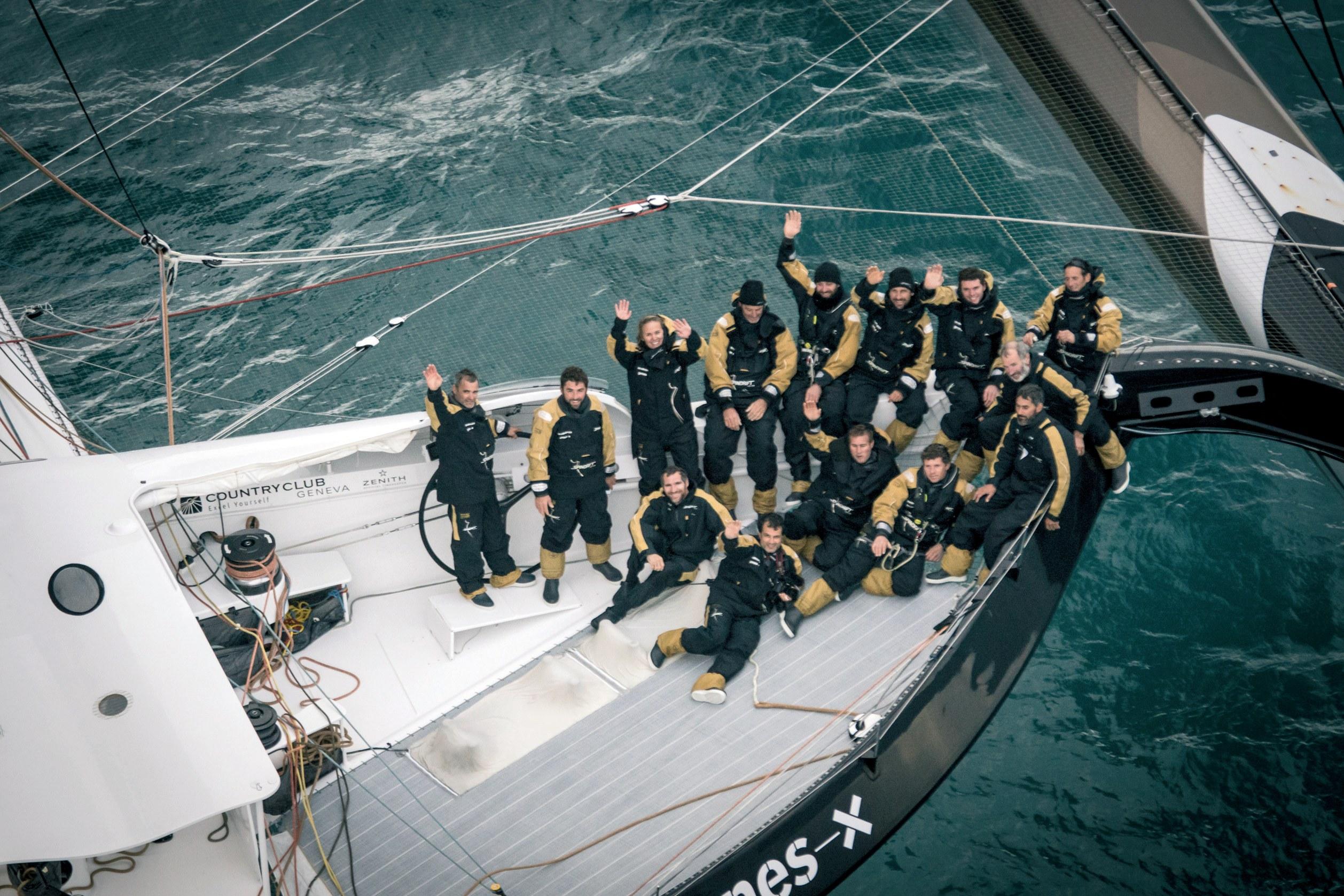 Jules Verne Trophy: Rekord nije pao