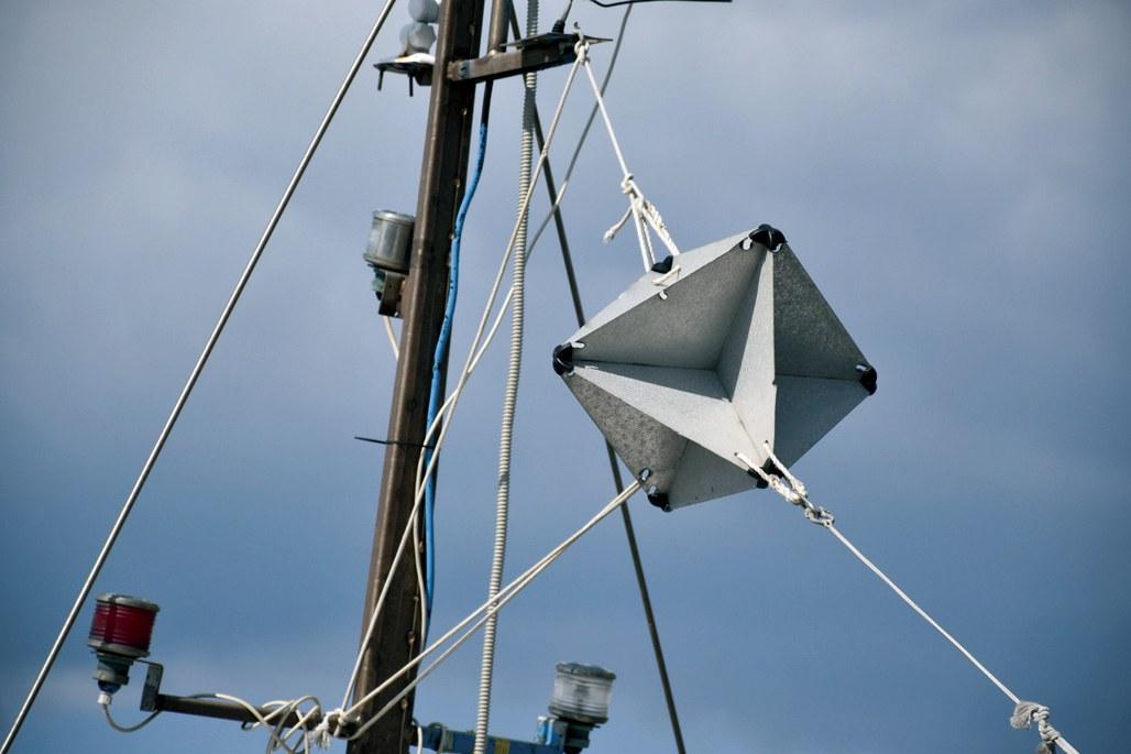 Radar-reflektor za jedrilicu