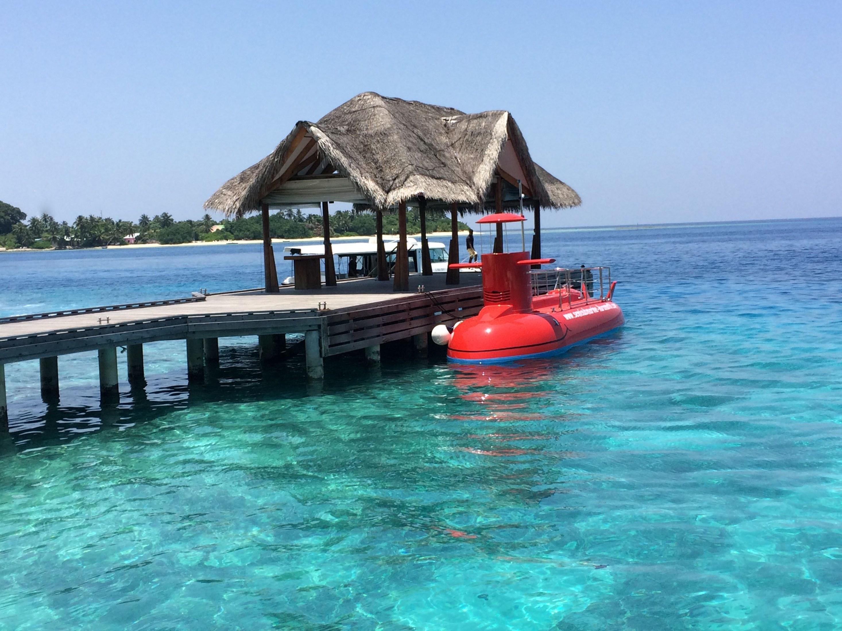 Hrvatska polupodmornica otplovila na Maldive