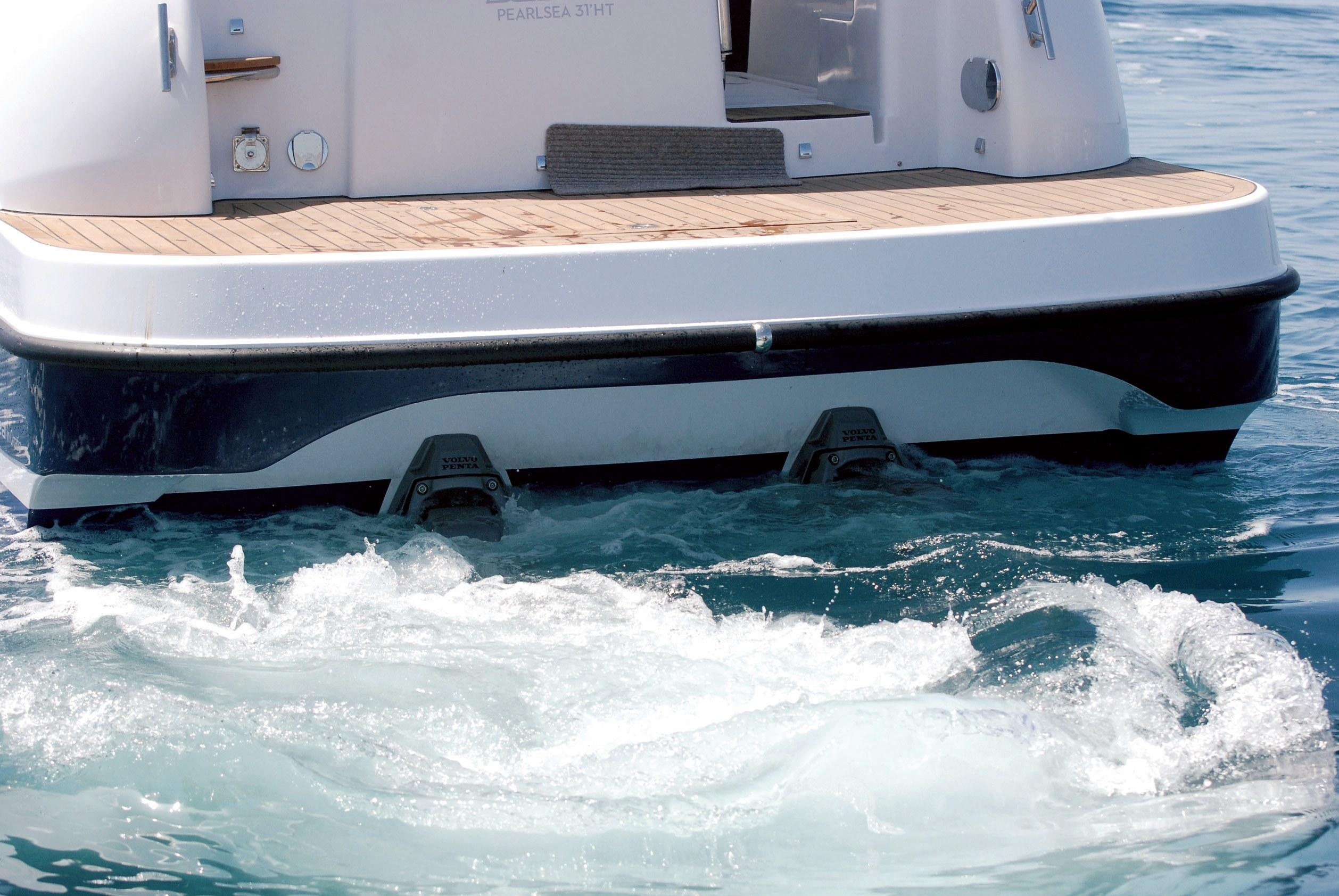 Hidrodinamika: Manevriranje dvovijčanim plovilom