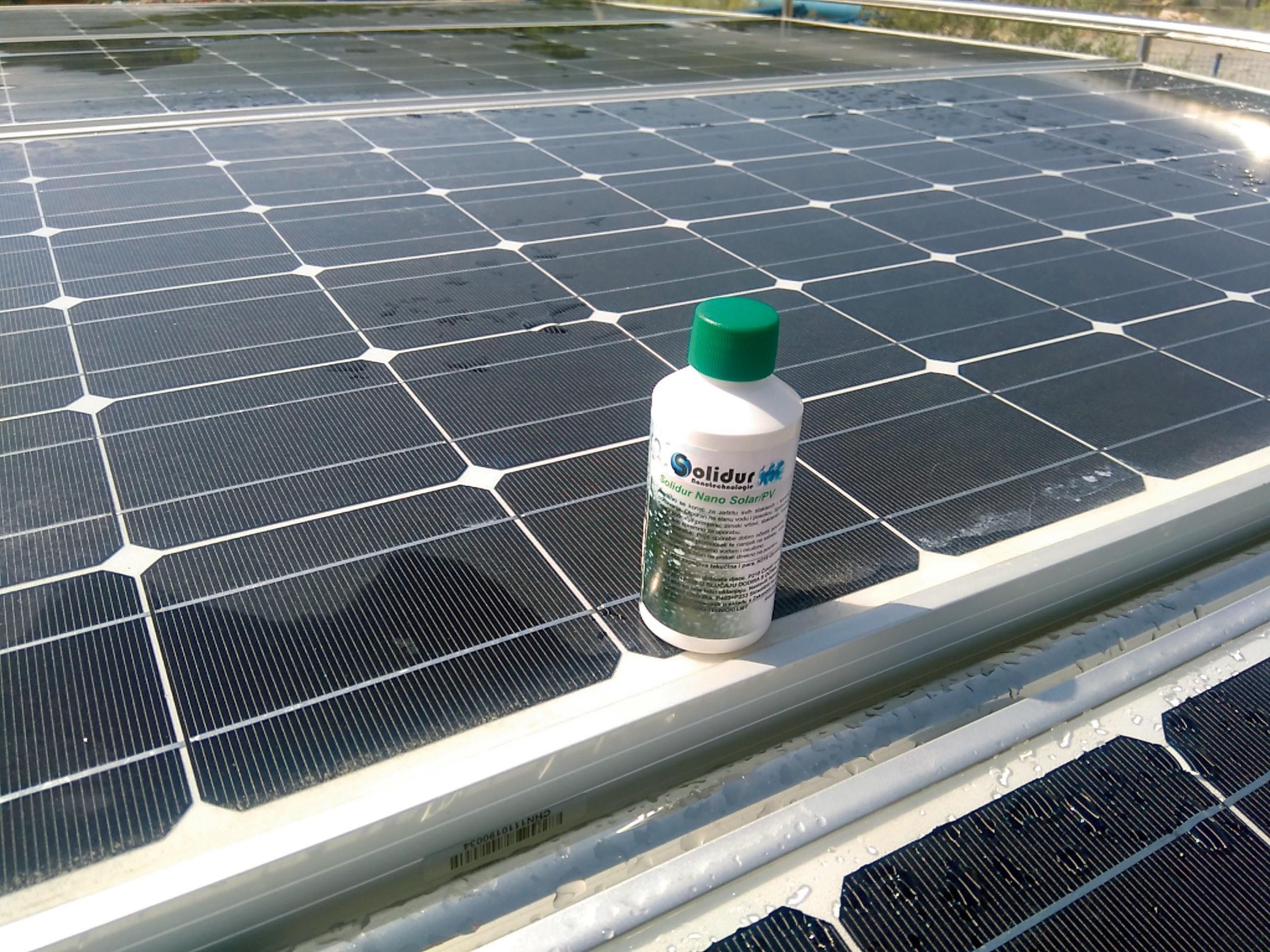 Nano premaz za solarne panele