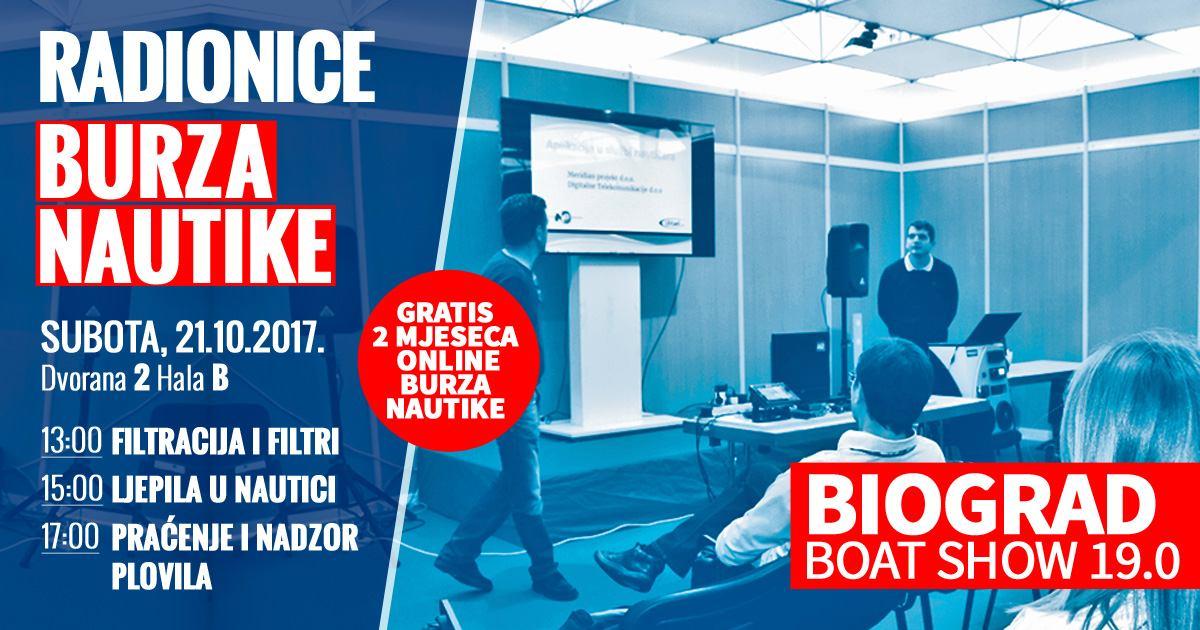 Radionice Burze Nautike na Biograd Boat Showu 19.0