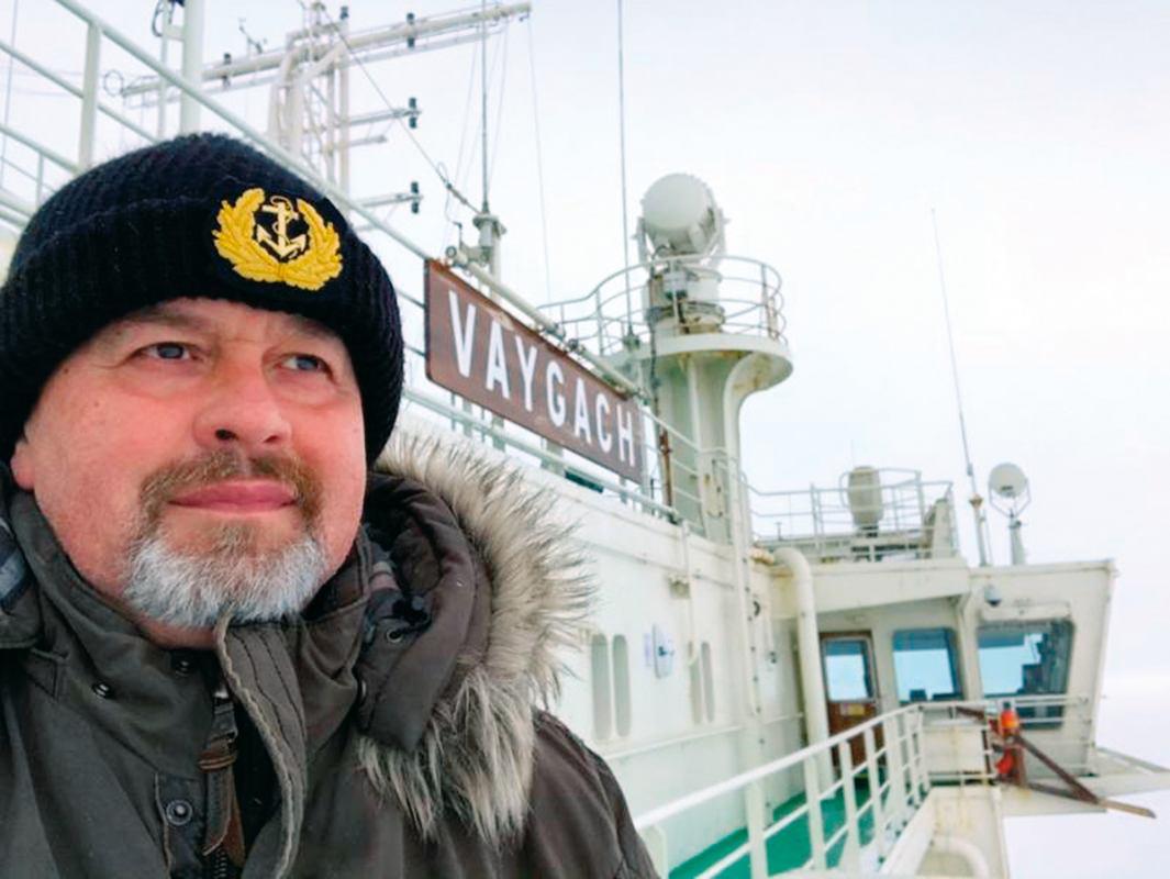 Hrvat zapovjednik LNG ledolomca