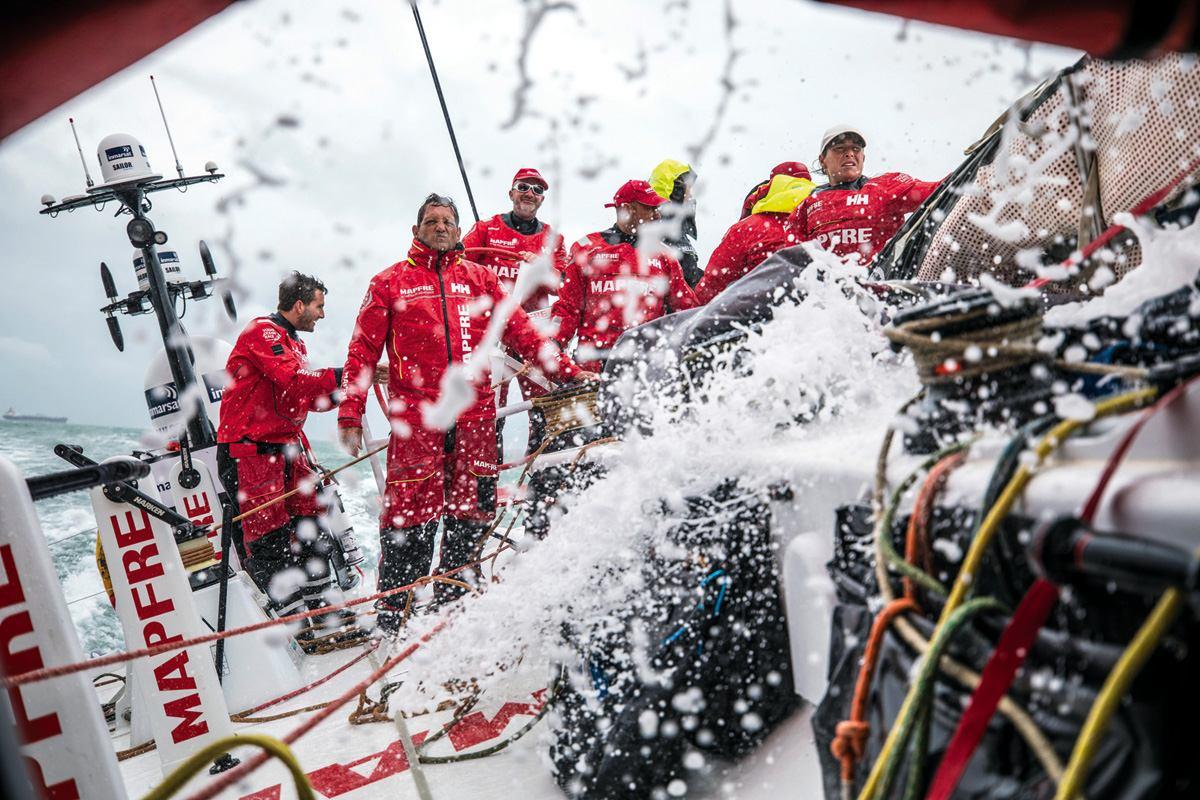Počeo je Volvo Ocean Race