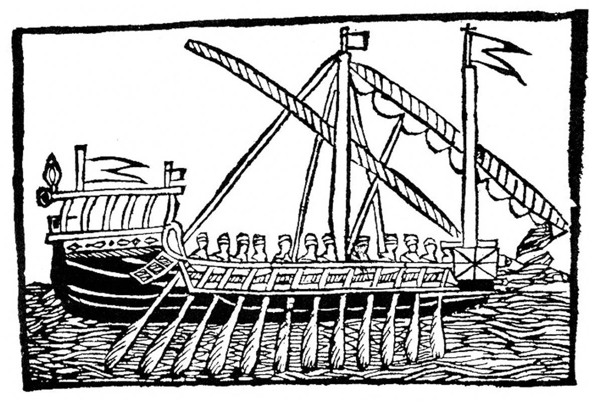 Koriolan Cipiko – plemić na galiji