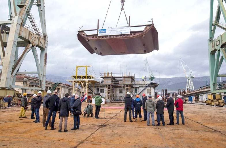 Brod za polarna krstarenja iz Splita