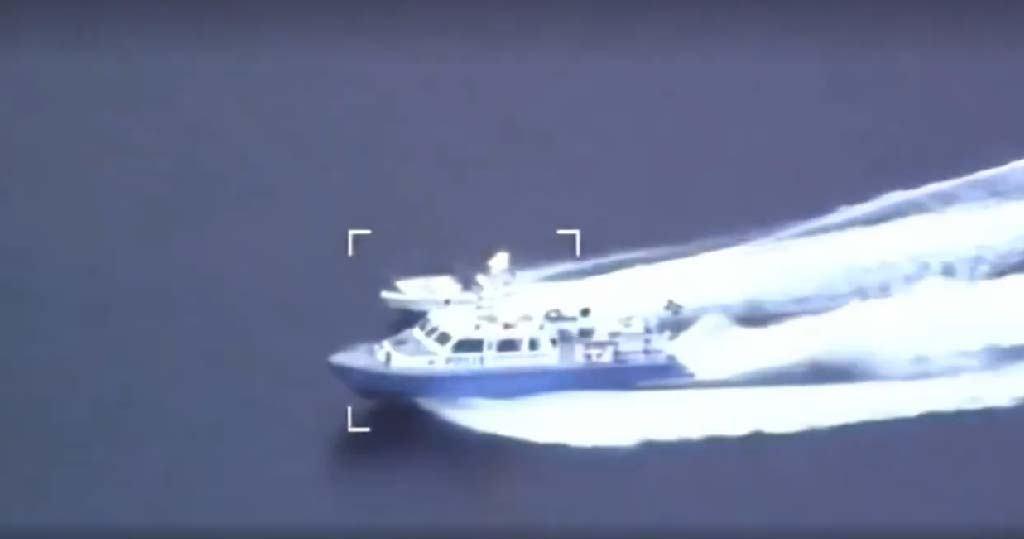 Pogledajte potjeru švedske pomorske policije