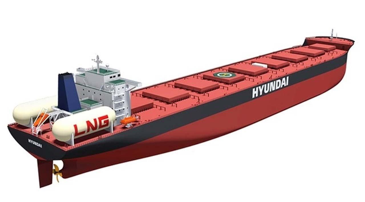 Najveći brod za rasuti teret sa LNG pogonom