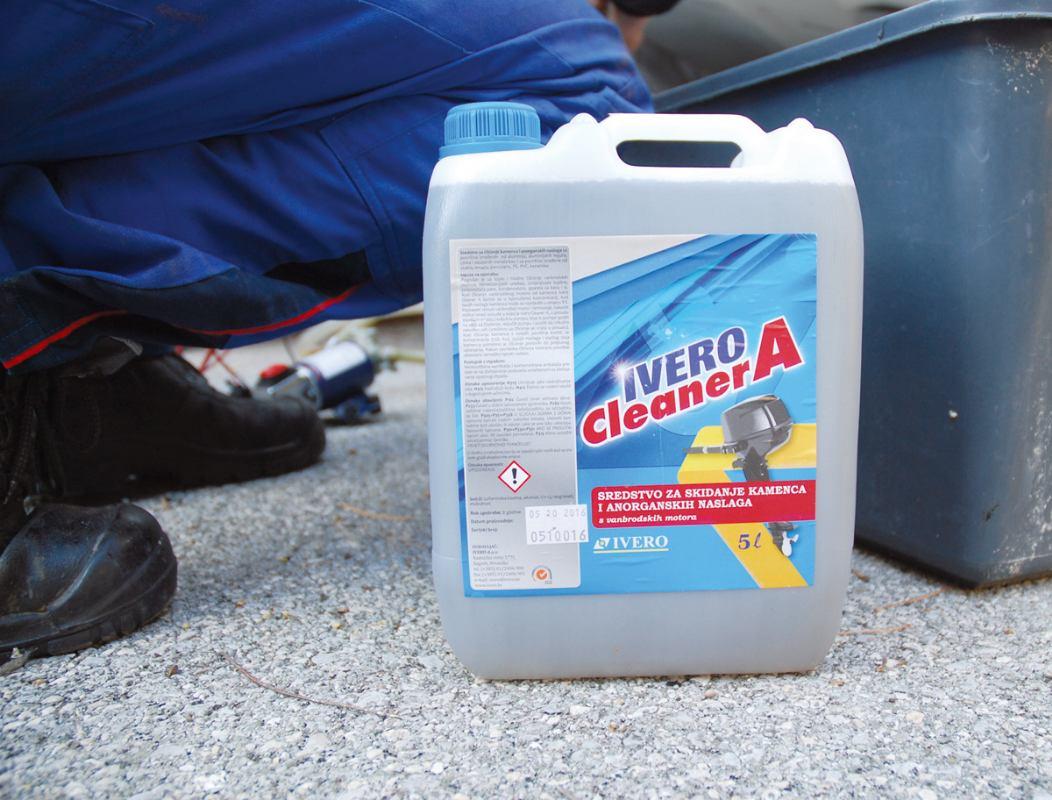 Ivero Cleaner A učinkovito rješenje za kamenac