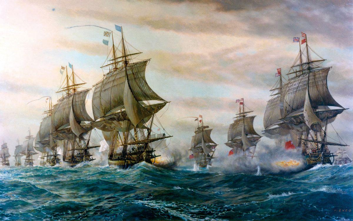 Povijest pomorstva: Suvereni na morima