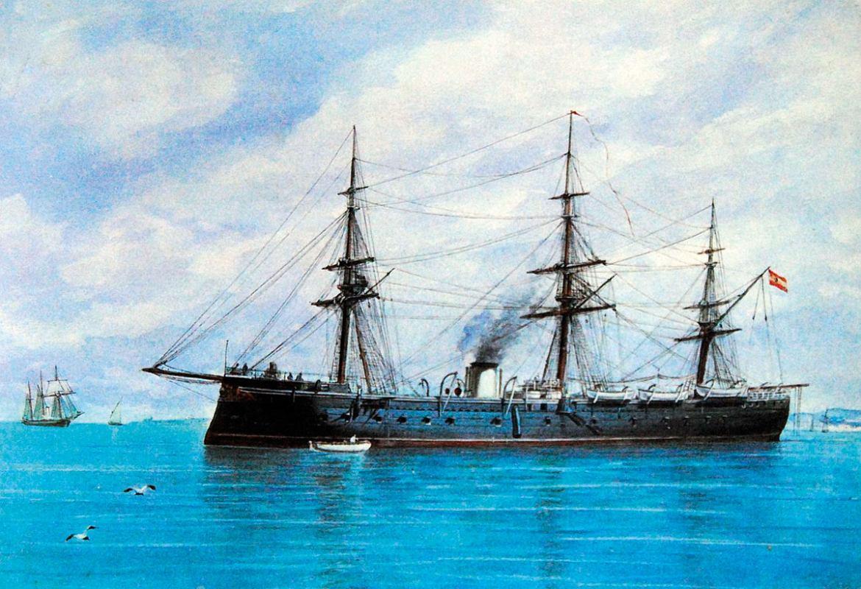 Povijest pomorstva: Nadmetanje topa i oklopa