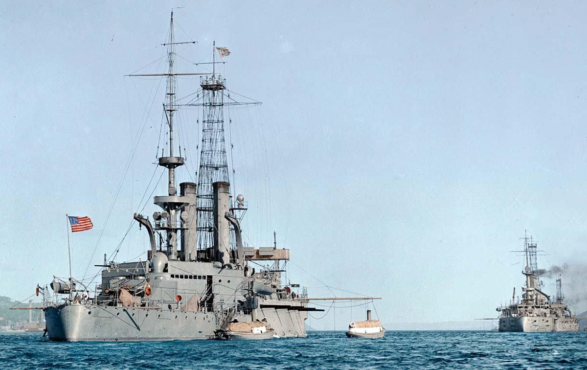 Povijest pomorstva: Od vremena standardizacije do kraja Velikog rata