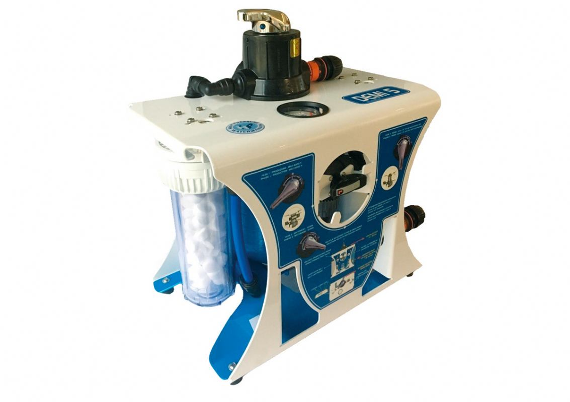 Prijenosni omekšivač pitke vode
