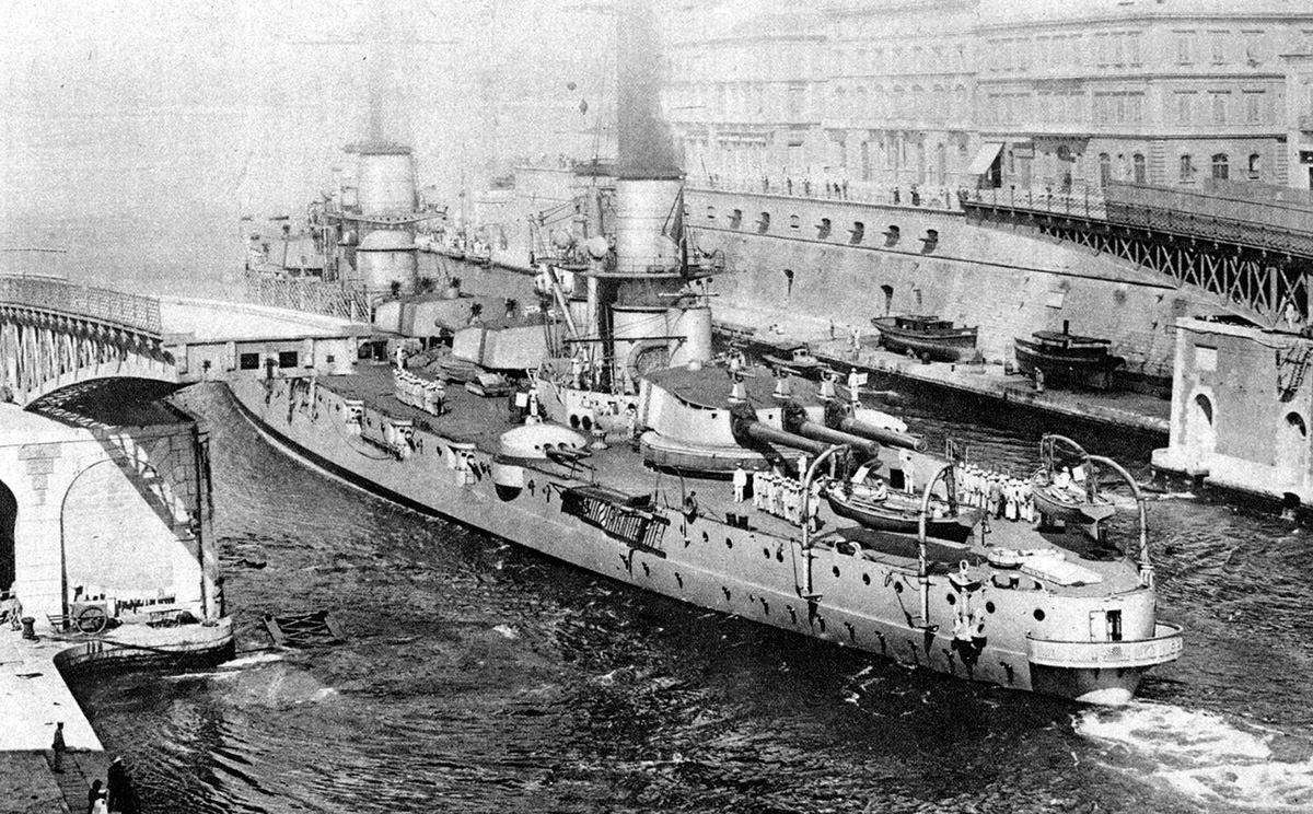 Povijest pomorstva: Vrijeme  dreadnoughta