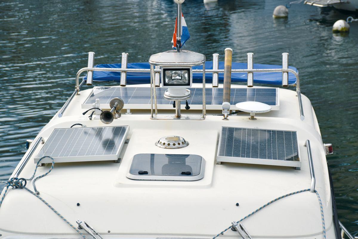 Punjenje baterija energijom s obale