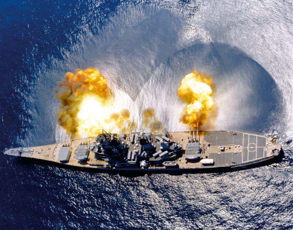 Povijest pomorstva: Zadnji bojni brodovi - kraj jedne ere