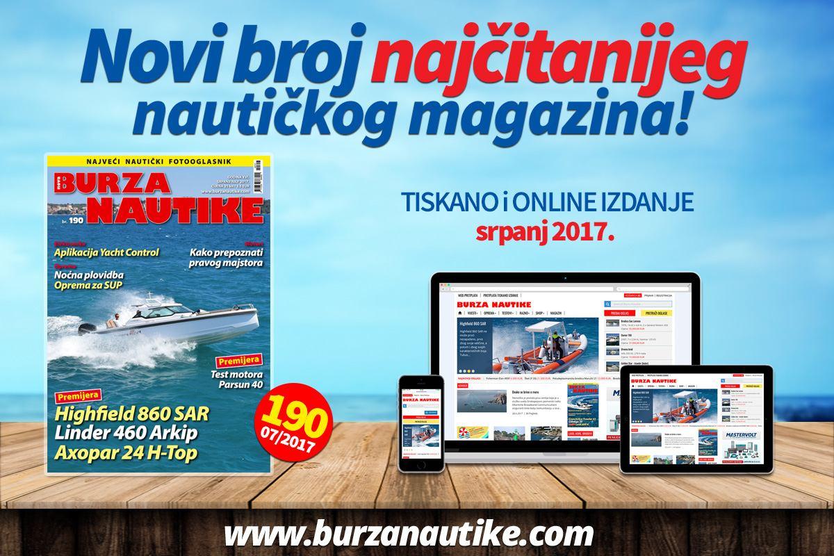 Novo izdanje Nautike od danas u prodaji!