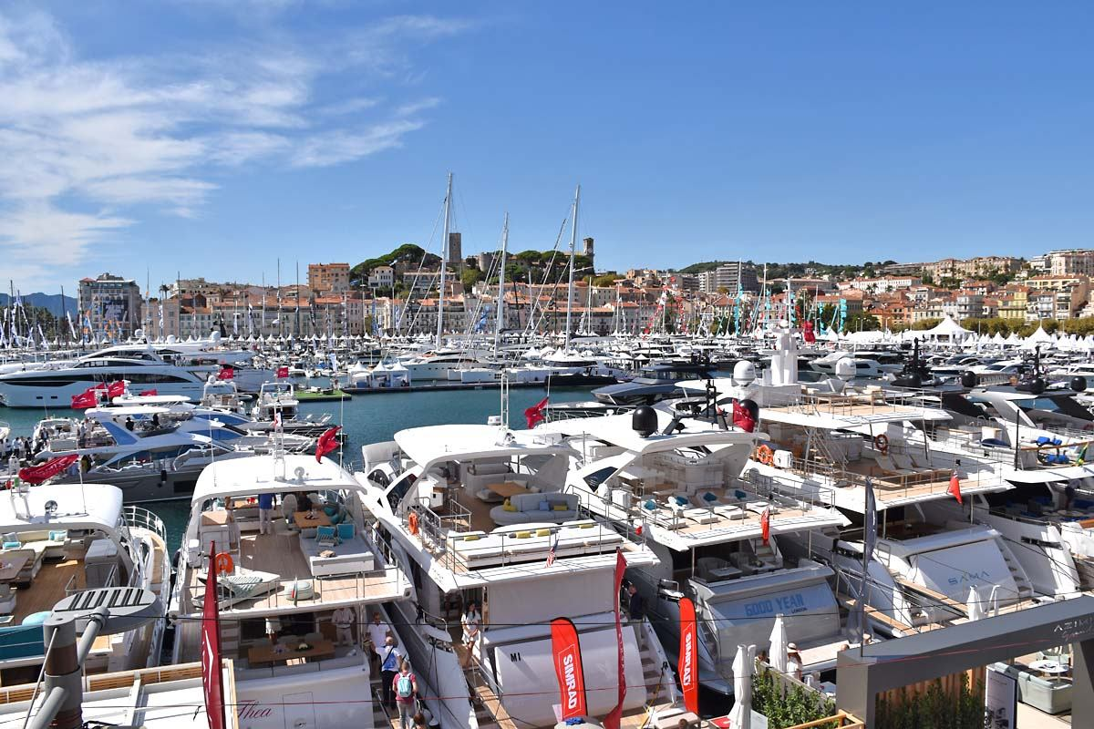 Cannes Yachting Festival 2017.