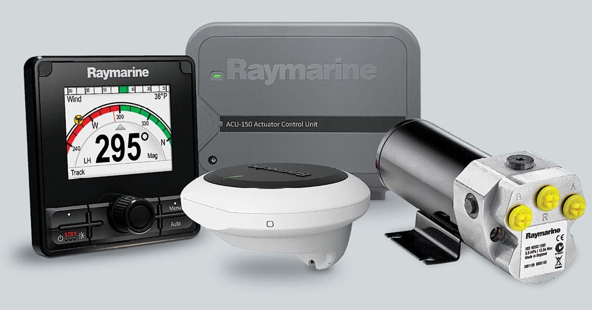 Hidraulički sustav autopilota Raymarine Evolution EV-150