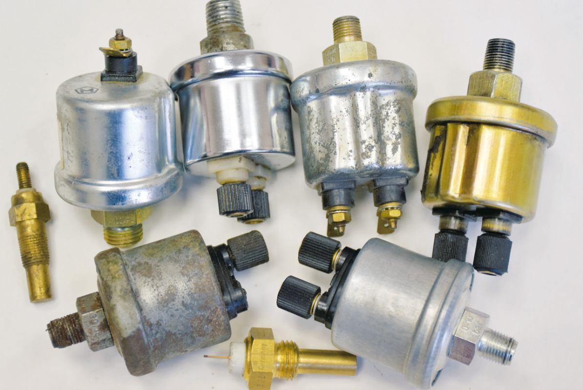 Mjerenje tlaka i temperature motora