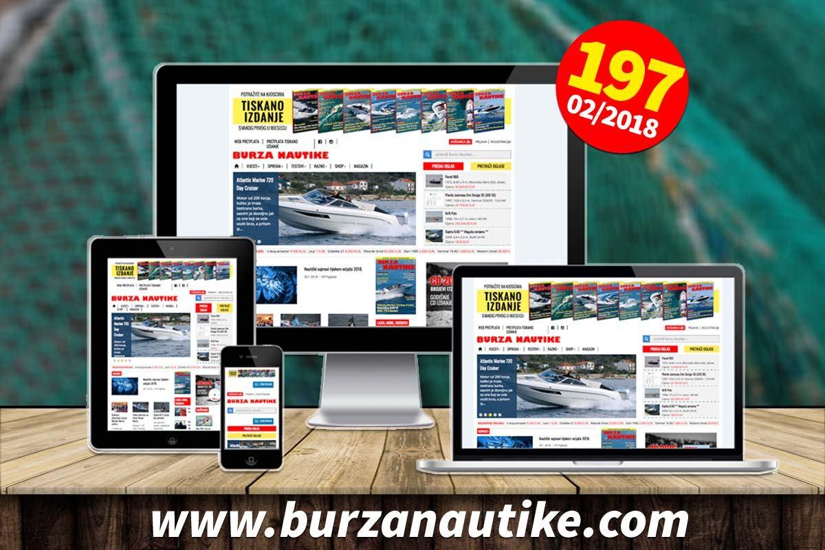 Online izdanje Nautike za veljaču dostupno je pretplatnicima