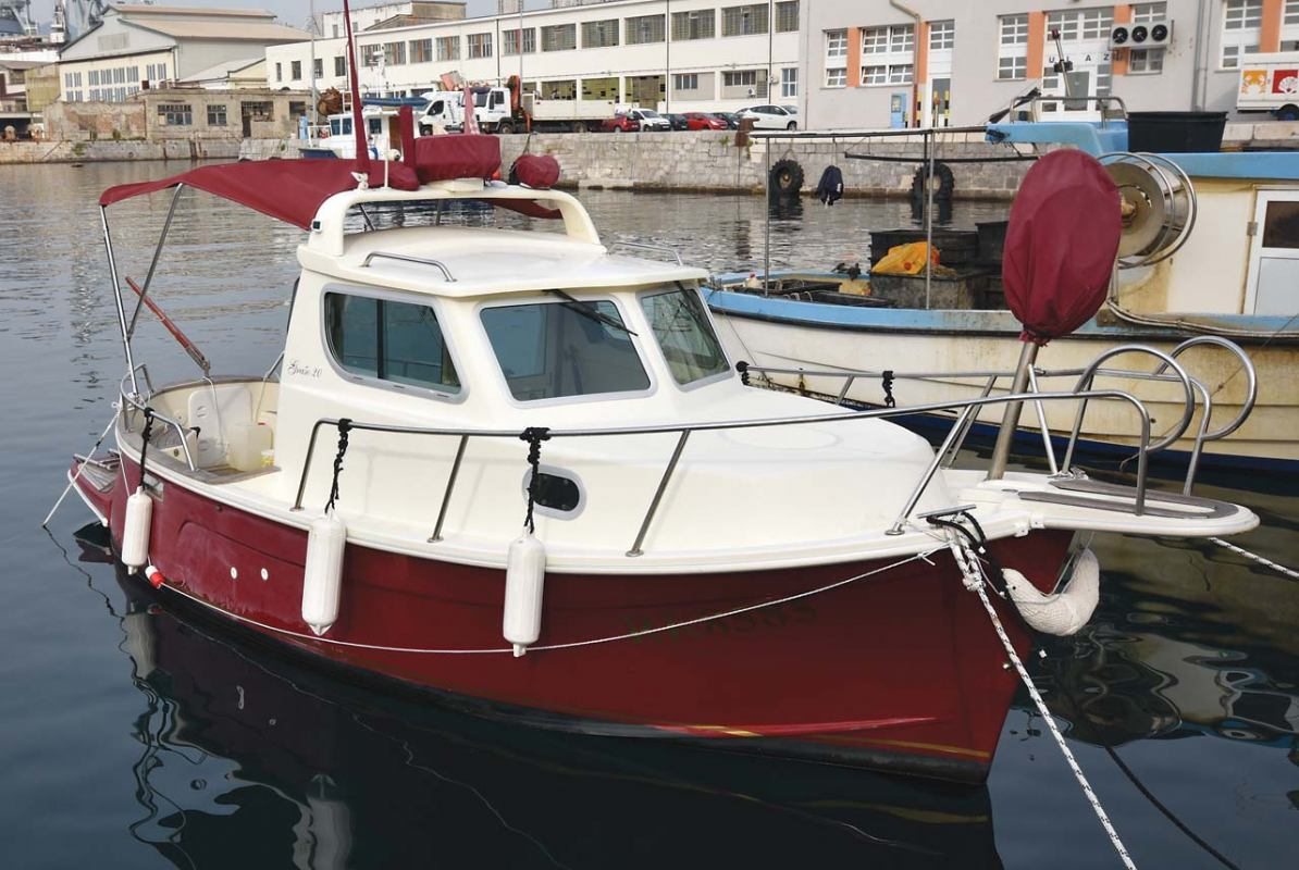 Konzervacija brodskoga motora