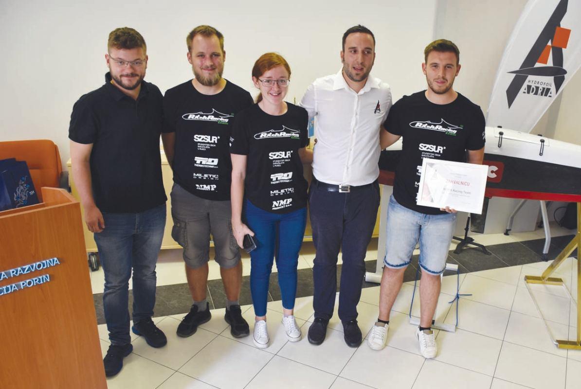 Projekti Adria Hydrofoil Teama