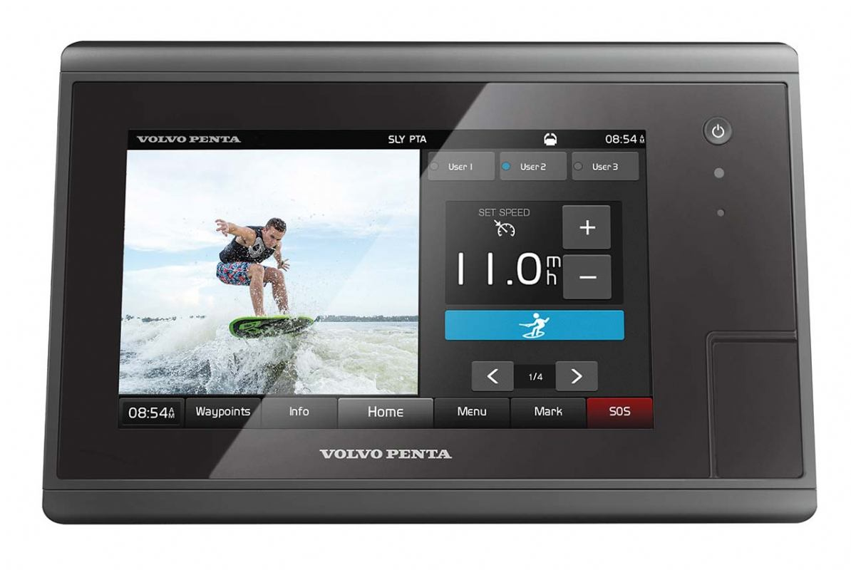 Volvo Penta Control Display