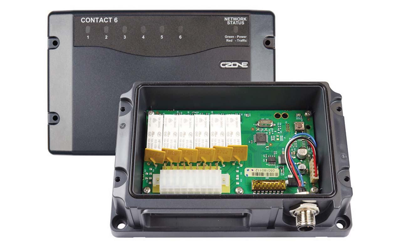Napredni sustav upravljanja brodskom električnom mrežom Contact 6