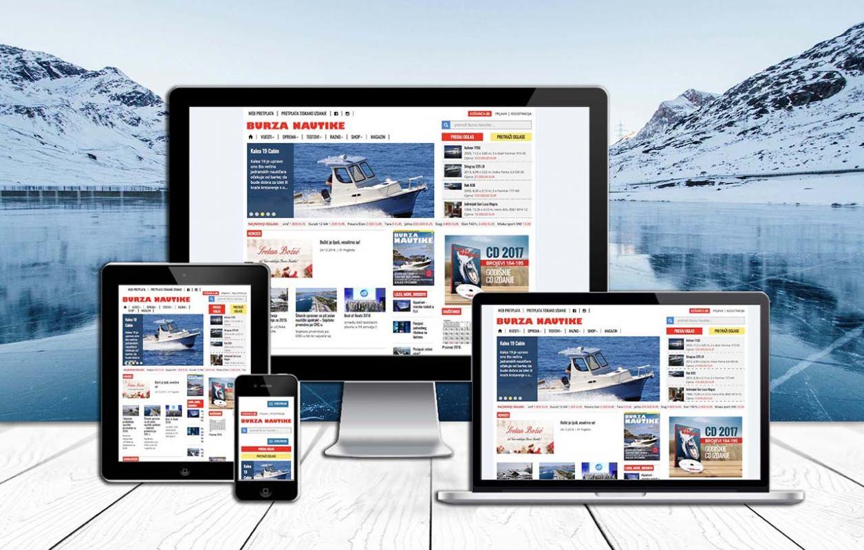 Od danas pretplatnici na online izdanje mogu čitati siječanjski broj Burze Nautike