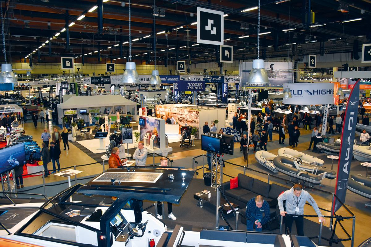Helsinki International Boat Show 2018.