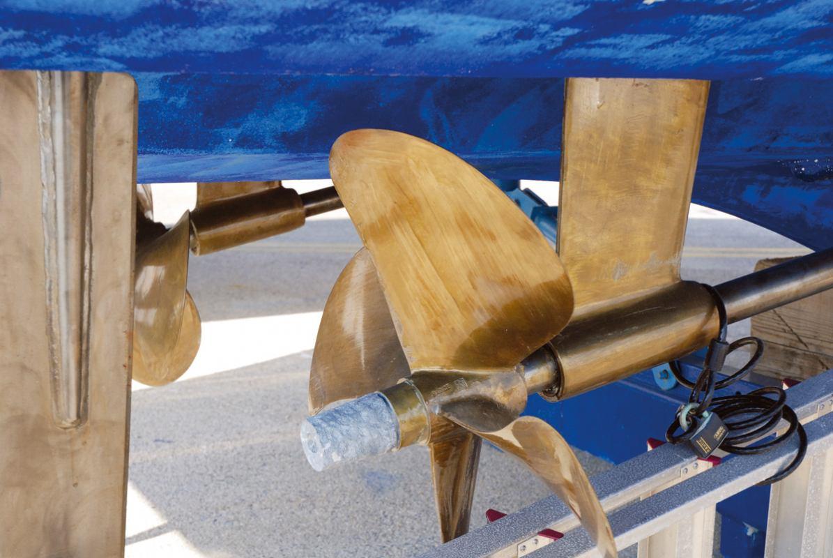 Dijelovi brodskog propelera