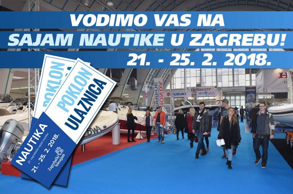 Vodimo vas na sajam nautike u Zagrebu!