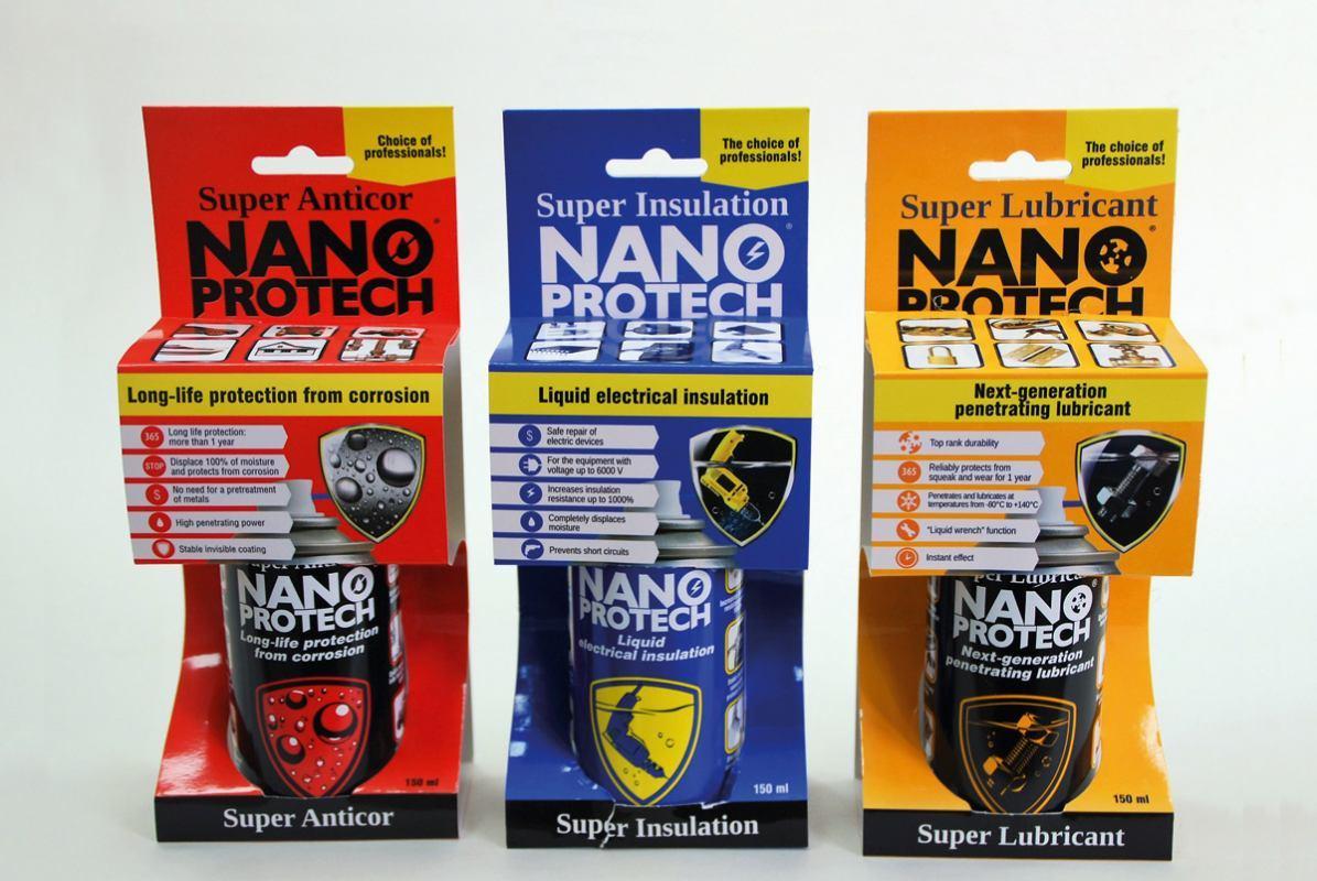 Nano Protech - štiti struju od vode