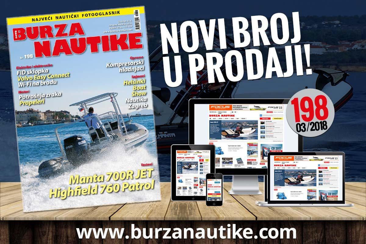 Ožujsko izdanje Nautike u prodaji