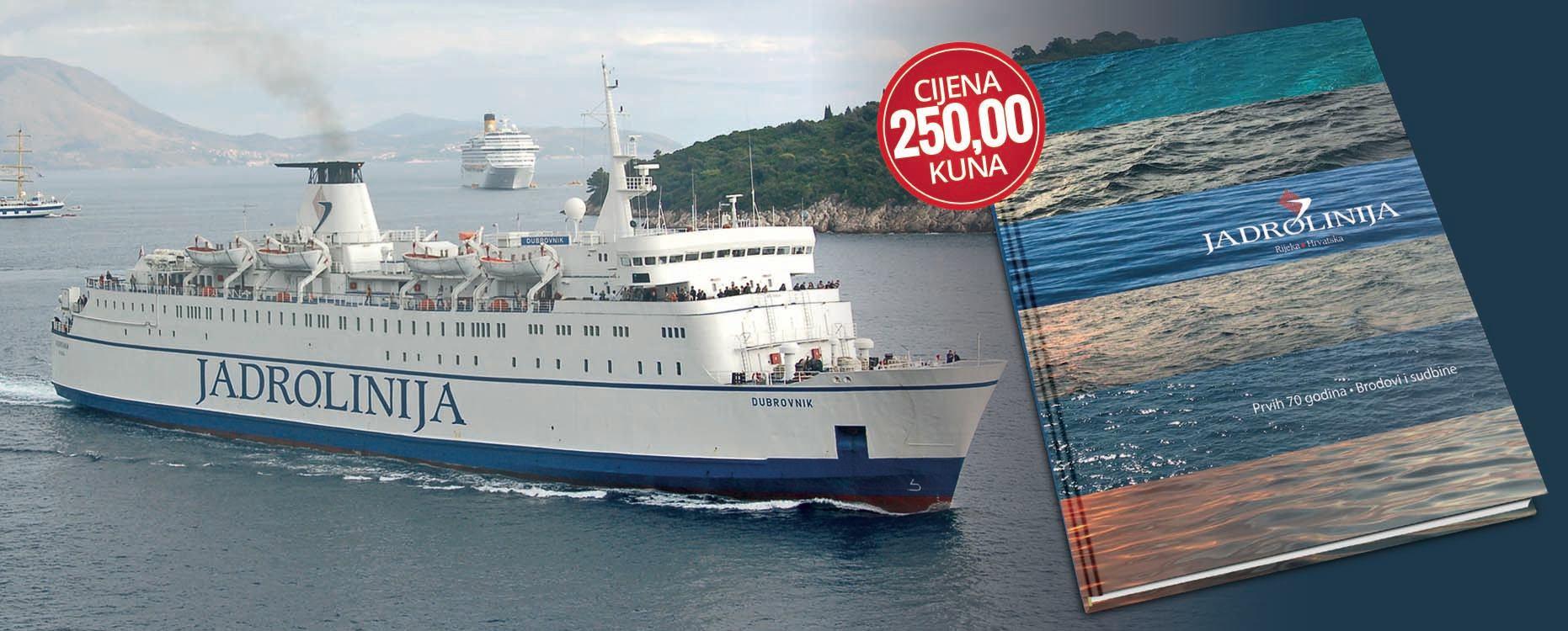 Jadrolinija: Prvih 70 godina – brodovi i sudbine