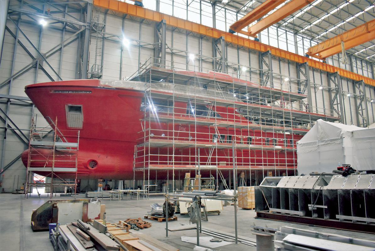 Italija centar svjetske luksuzne brodogradnje
