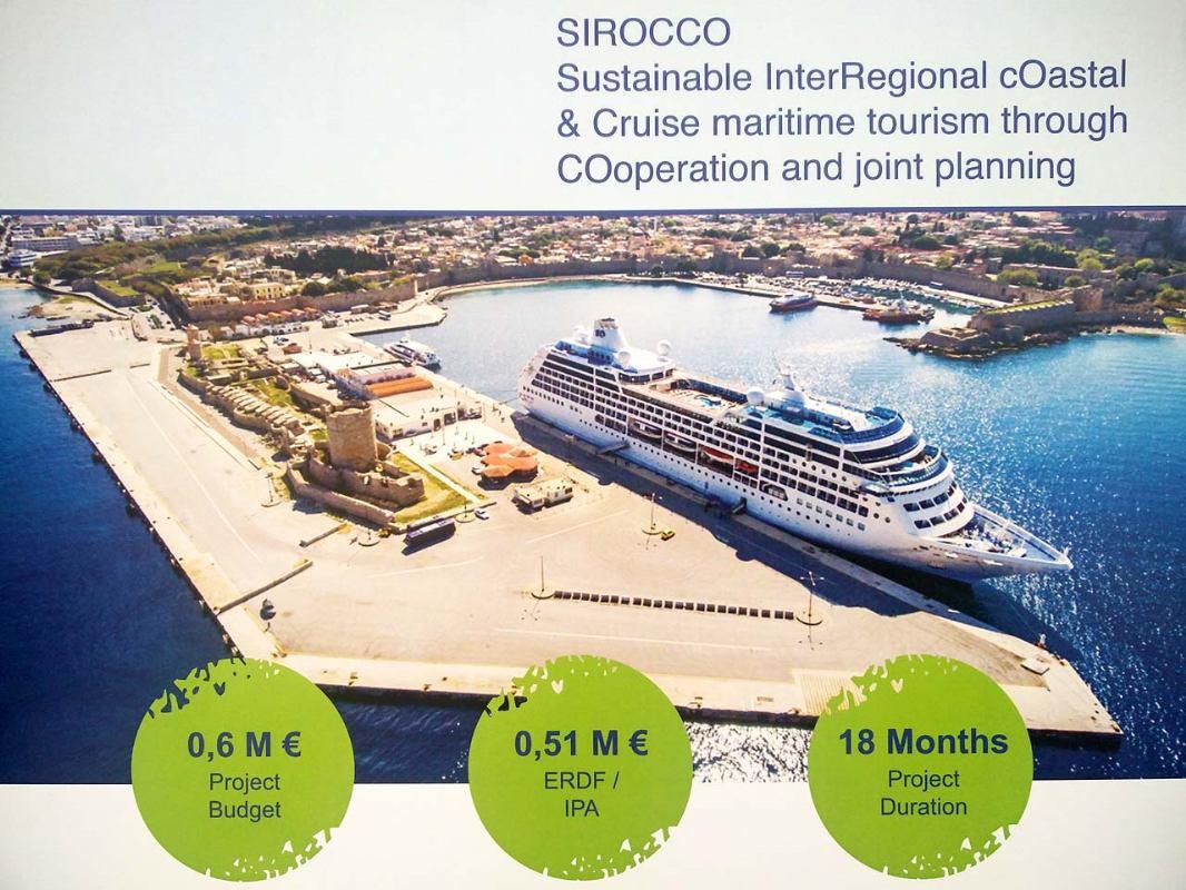 Projekt  SIROCCO nova dimenzija razvoja kruzing turizma